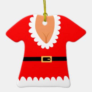 Naughty Mrs. Claus Custom Holiday Ornament