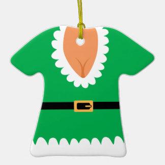 Naughty Mrs. Elf Custom Holiday Ornament