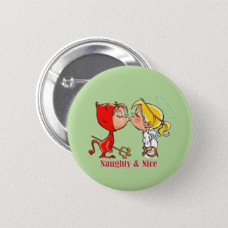 Naughty & Nice Button