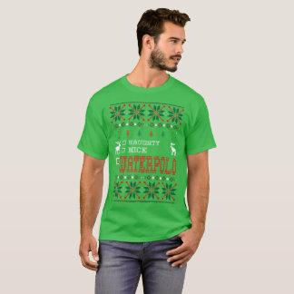 Naughty Nice Waterpolo Christmas Ugly Sweater Tees