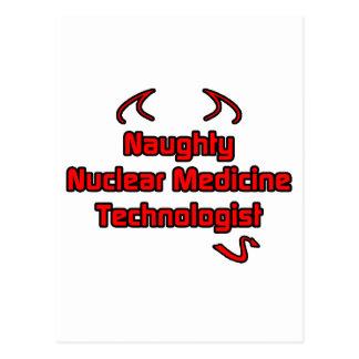 Naughty Nuclear Medicine Technologist Post Card