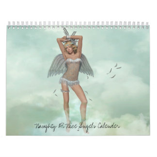 Naughty OR Nice Angels Calender Calendars