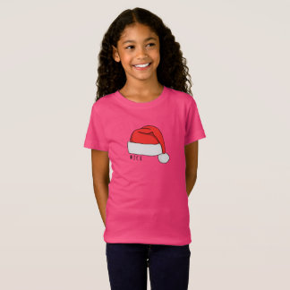 Naughty or Nice Girls T-Shirt - Hot Pink