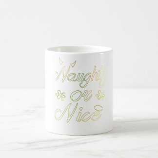 Naughty or Nice Holiday  | Aidensworld21 Coffee Mug