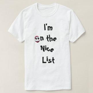 Naughty Or Nice List Cats Holiday Shirt