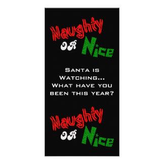 Naughty Or Nice? Photo Card