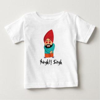 Naughty Singh Baby T-Shirt