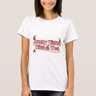 Naughty Wicked Witch T-Shirt