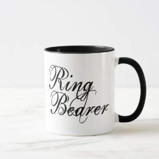 Naughy Grunge Script - Ring Bearer Black