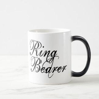 Naughy Grunge Script - Ring Bearer Black Morphing Mug