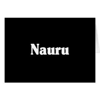 Nauru Greeting Cards