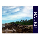 nauru coast postcard
