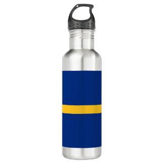 Nauru Flag 710 Ml Water Bottle
