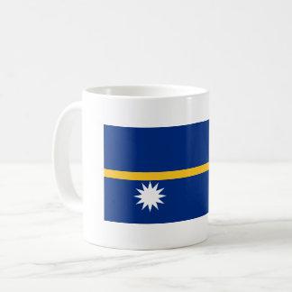 Nauru Flag Coffee Mug
