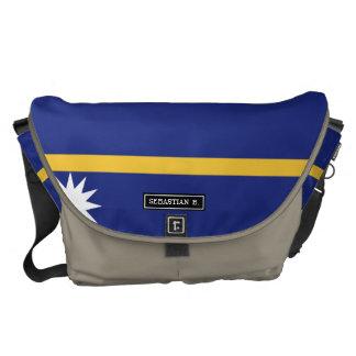 Nauru Flag Commuter Bag