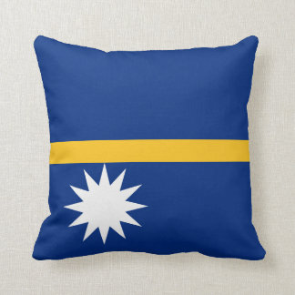 Nauru Flag Cushion