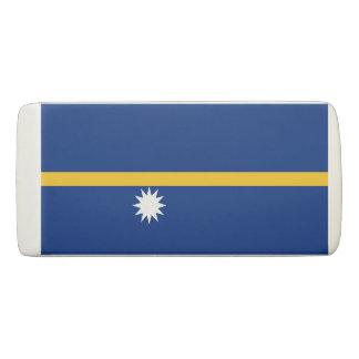 Nauru Flag Eraser