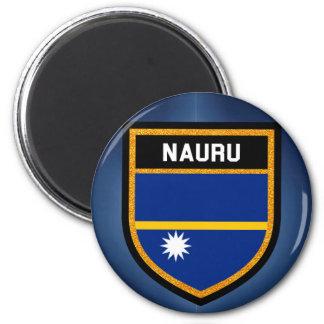 Nauru Flag Magnet