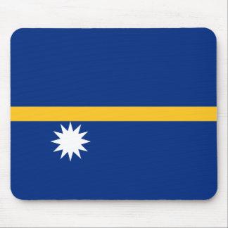 Nauru Flag Mouse Pad