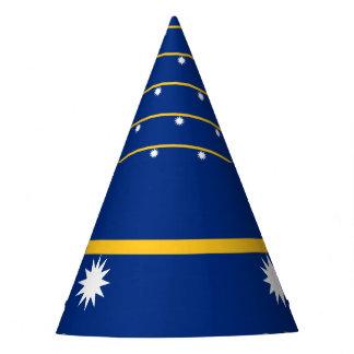 Nauru Flag Party Hat