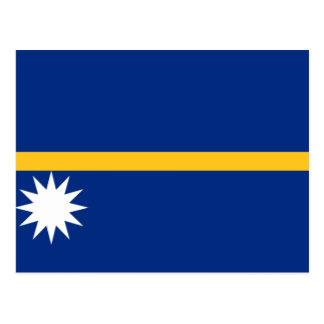 Nauru Flag Postcard