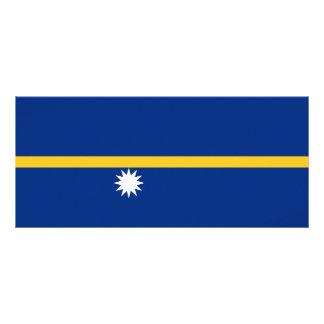 Nauru Flag Rack Card