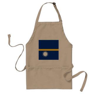 Nauru Flag Standard Apron