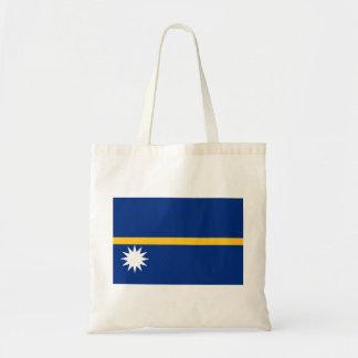 Nauru Flag Tote Bag