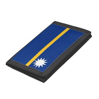 Nauru Flag Tri-fold Wallets