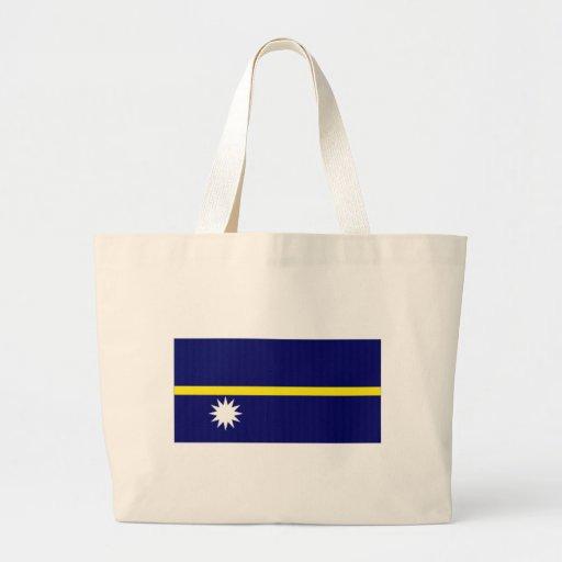Nauru National Flag Canvas Bag