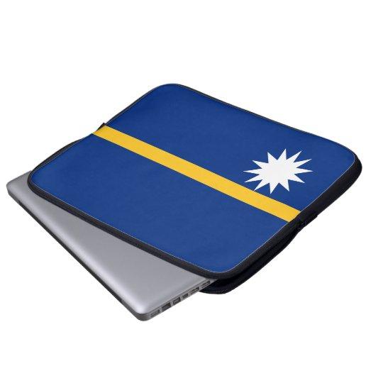 Nauru National World Flag Laptop Sleeve