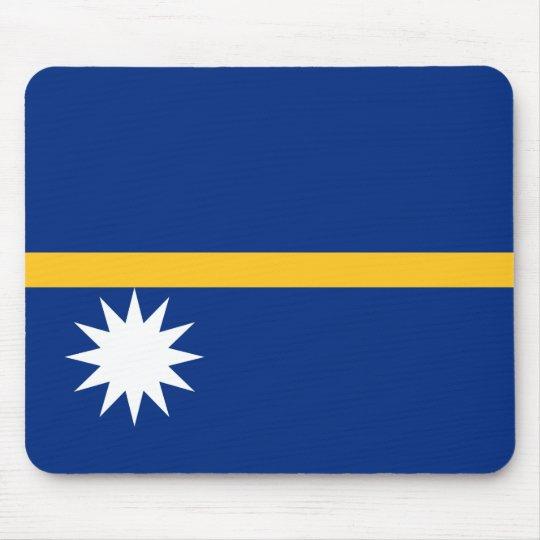 Nauru National World Flag Mouse Pad