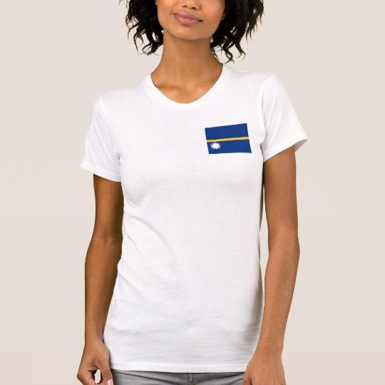 Nauru National World Flag T-Shirt