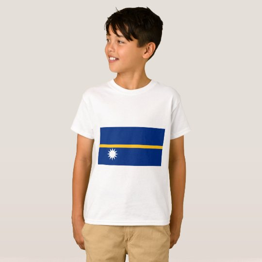 Nauru National World Flag T-Shirt