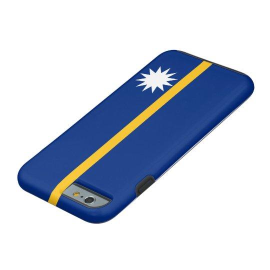 Nauru National World Flag Tough iPhone 6 Case