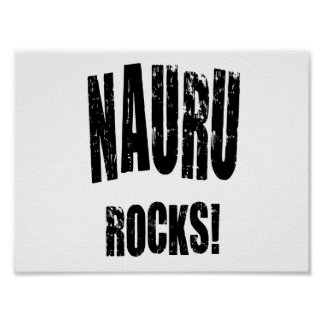 Nauru Rocks! Poster