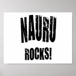 Nauru Rocks! Print
