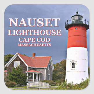Nauset Lighthouse, Cape Cod Massachusetts Stickers