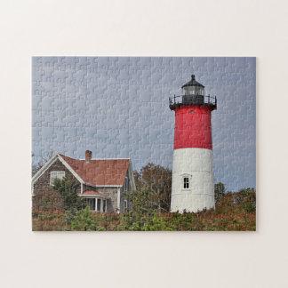 Nauset lighthouse jigsaw puzzle
