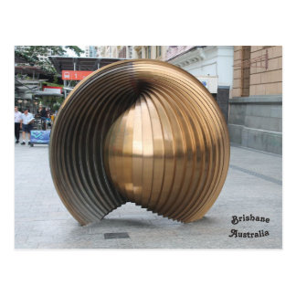 Nautalis Shell Sculpture, Brisbane, Australia Postcard