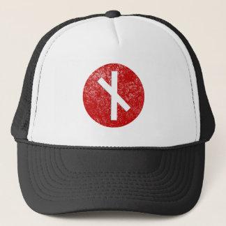 Nauthiz Rune Trucker Hat