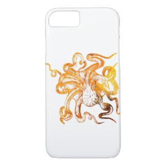 Nautical amber octopus iPhone 8/7 case