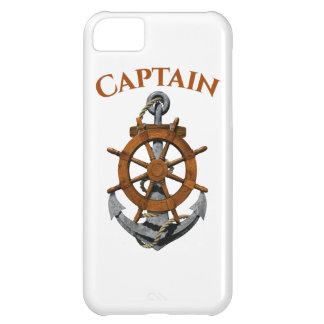 Nautical Anchor And Captain iPhone 5C Case