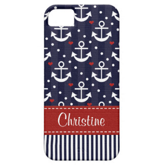 Nautical Anchor Barely There iPhone 5 Case