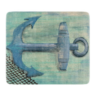 Nautical Anchor Cutting Board