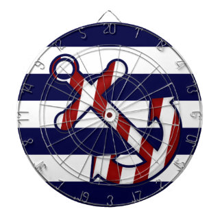 Nautical Anchor Dart Board