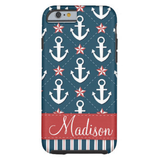 Nautical Anchor iPhone 6 case