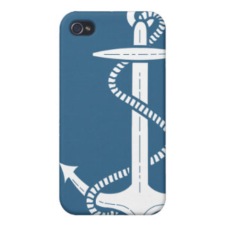 Nautical Anchor iPhone Case iPhone 4/4S Covers