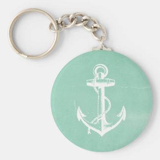 Nautical Anchor Key Ring