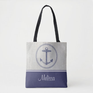 Nautical Anchor | Personalised Tote Bag